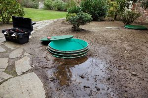 septic system backup